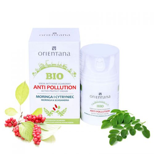 krem anti pollution Orientana