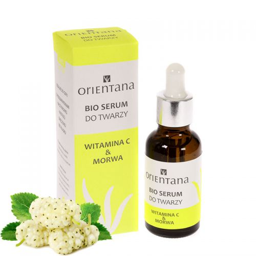Bio serum do twarzy Witamina C & Morwa Orientana